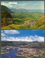 Lot De 7 Cartes Postales Océanie Nuuanu Pali Honolulu Hawaii - Etats-Unis