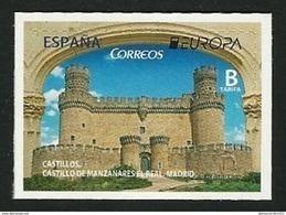 """ESPAÑA/ SPAIN/ SPANIEN -EUROPA-CEPT 2017.-TEMA:""""CASTILLOS -CASTLES -SCHLÖSSER"""".-  SERIE De  1 V. AUTO-ADHESIVO - 2017"""