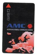 Albanie Carte Gsm Sim AMC - Albanie