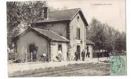 CPA 08 - VONCQ - LA GARE - N°1 - France