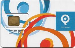 Greece - Q Telecom - Old Design #1 GSM SIM Mint - Greece