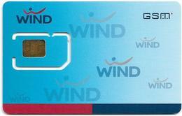 Greece - WIND 32K Blue Mobile GSM Sim Type 1, Mint - Greece