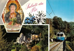 Cartolina Re Vedute Treno 1966 - Verbania