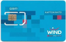 Greece - Wind 64K Mobile GSM Sim Type 3, Mint - Greece