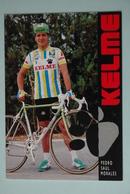 CYCLISME: PEDRO SAUL MORALES - Cyclisme