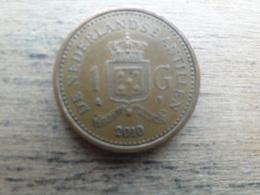 Antilles  Neerlandaises    1 Gulden  2010  Km 37 - Antillen (Niederländische)