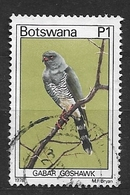 BOTSWANA  1978 Birds  Used The Gabar Goshawk (Micronisus Gabar) Is A Small Species Of African And Arabian Bird Of Prey - Botswana (1966-...)