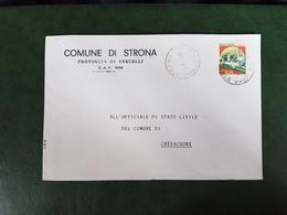 (27009) STORIA POSTALE ITALIA 1988 - 6. 1946-.. Repubblica
