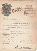 Royaume Uni Facture Lettre Illustrée 27/5/1915 HENRY C STEPHENS Encres STEPHENS  LONDON - United Kingdom