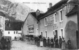CPA De MOUTHIER (Doubs) - L'Hôtel ROY-GANEVAL.Edition Leroux. Circulée En 1910. Bon état - France