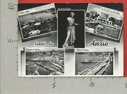 CARTOLINA VG ITALIA - Saluti Da ANZIO (ROMA) - Vedutine Multivue - 10 X 15 - ANN. 1964 - Saluti Da.../ Gruss Aus...