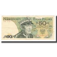 Billet, Pologne, 50 Zlotych, 1975-1988, 1982-06-01, KM:142b, TTB - Pologne
