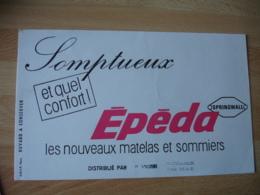 Tampon Foret La Folie  Vigier Epeda  Buvard - Buvards, Protège-cahiers Illustrés