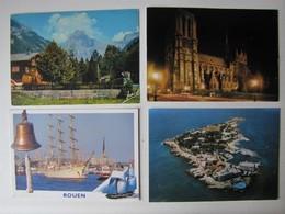 FRANCE - Lot 72 - Vues De Villes Et De Villages - 100 Cartes Postales Différentes - Postcards
