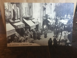 Ancienne Carte Postale - Antibes - Autres