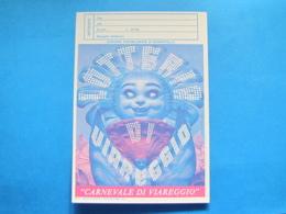 CARTOLINA LOTTERIA NAZIONALE CARNEVALE VIAREGGIO 1985 - Biglietti Della Lotteria