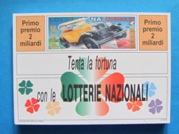 CARTOLINA LOTTERIA NAZIONALE AUTO STORICHE 1993 - Biglietti Della Lotteria