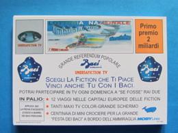 CARTOLINA LOTTERIA NAZIONALE UMBRIA FICTION 1993 - Biglietti Della Lotteria
