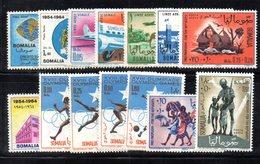 Z829 - SOMALIA 1964 , L'annata Completa Di Posta Aerea  *** - Somalia (1960-...)