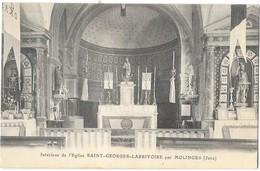 SAINT GEORGES LARRIVOIRE Près MOLINGES (39) Intérieur De L'église - France