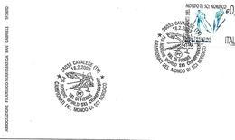 SG0335 - ANNULLO CAVALESE - CAMPIONATI DEL MONDO DI SCI ALPINO.- 18.2.2003 - 6. 1946-.. Repubblica