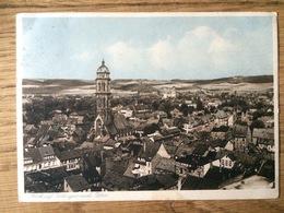 1931 Blick Auf Göttingen Nach Osten, Kupfertiefdruck Kunstpostkarte - Goettingen