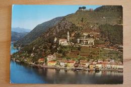 Morcote Lago Di Lugano Luganersee Tessin Schweiz Ansichtskarte - TI Tessin