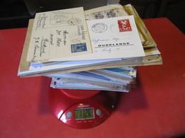 VRAC DE PLUS DE 300 LETTRES,CARTES, LUXEMBOURG ET AUTRES PAYS. - Lots & Kiloware (max. 999 Stück)