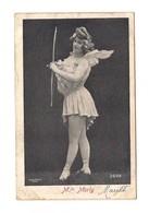 ARTISTE FEMME  AILES D'ange - Melle MORLY TIR A L'ARC - Alterocca Terni 2499 - - Tir à L'Arc