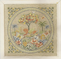 """Kit Points Comptés PRINCESSE """" Collections Privées : Jardin D'eden """" - Cross Stitch"""