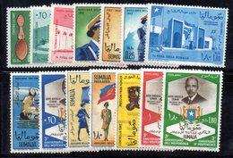 Z870 - SOMALIA 1963 , L'annata Completa Di Posta Aerea  *** - Somalia (1960-...)