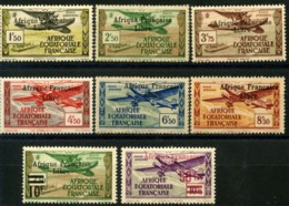 A.E.F (1940) PA N 14 à 21 * (charniere) - A.E.F. (1936-1958)