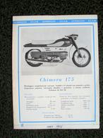 PUBBLICITA' MOTO AERMACCHI - Moteurs