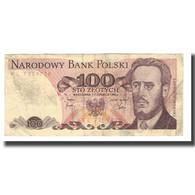 Billet, Pologne, 100 Zlotych, 1975-1988, 1982-06-01, KM:143d, TB - Pologne