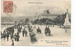 NICE - Promenade Des Anglais - Promenade Du Matin - Plätze
