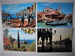 ITALIA - Lot 75 - Vues De Villes Et De Villages - 100 Cartes Postales Différentes - Postcards