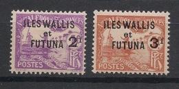 Wallis Et Futuna - 1927 - Taxe TT N°Yv. 9 à 10 - Série Complète - Neuf Luxe ** / MNH / Postfrisch - Timbres-taxe