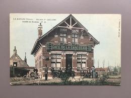LILLE - LA BASSEE - Maison Leclerc - Café De La Gare D' Eau - 1910 - Lille