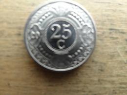 Antilles  Neerlandaises    25  Cents  2014  Km !!! - Netherland Antilles