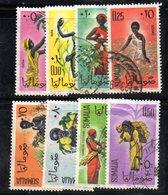 Z911 - SOMALIA 1961 , Serie Yvert N. 9/16  Usata . - Somalia (1960-...)
