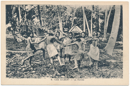 ILES GILBERT - Enfants, La Ronde - Kiribati
