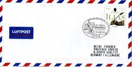 BRD Amtl.GZS-Umschlag (Langformat) USo 26, SSt 13.8.2001 BERLIN ZENTRUM - [7] Repubblica Federale