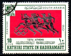 KATHIRI STATE IN HADHRAMAUT. Timbre Oblitéré. J.O. D'Athènes. - Summer 1896: Athens