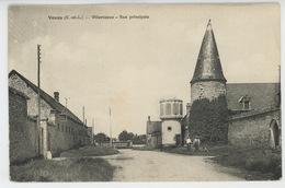 VOVES - VILLARCEAUX - Rue Principale - France