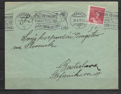 E597-CZECHOSLOVAKIA COVER 1932- IX, SLET VĚSOKOLSKY PRAHA 1932- USED - Briefe U. Dokumente