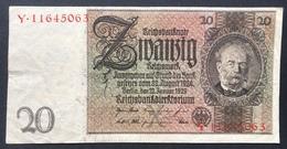 Germany 20 Mark 1929 - [ 3] 1918-1933: Weimarrepubliek