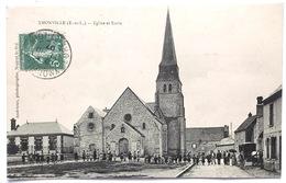 Ymonville (E.-et-L.)   Eglise Et Ecole - Autres Communes