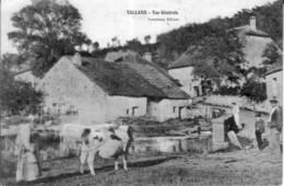 CPA De TALLANS (Doubs) - Vue Générale. Edition Lonchamp. Circulée En 1907. Bon état. - France
