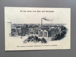 BRUSSEL - BRUXELLES - Fabriek Nels - Fabrique Nels - Cartes Vues - Cartes Fantaisies - Postkaartenfabriek - België