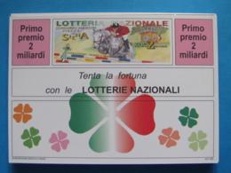 CARTOLINA LOTTERIA NAZIONALE PIAZZA DI SIENA ROMA 1993 - Biglietti Della Lotteria